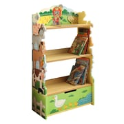 Teamson Fantasy Fields Happy Farm Animal Bookshelf (TD-11329A)