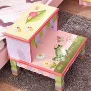 Teamson Fantasy Fields Magic Garden Step Stool (W-7486A)