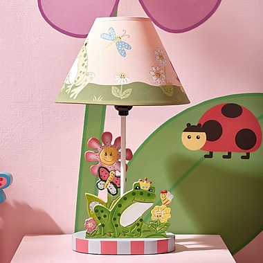 Teamson Fantasy Fields – Lampe de table, collection Magic Garden (W-7488A)