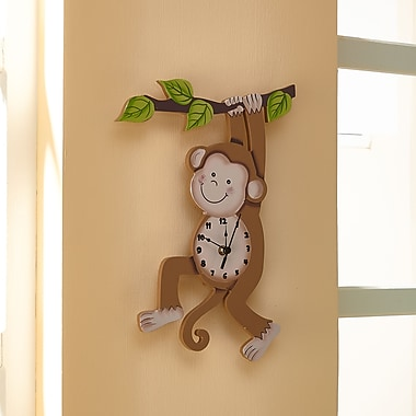 Teamson Fantasy Fields Sunny Safari Wall Clock (TD-0081A)