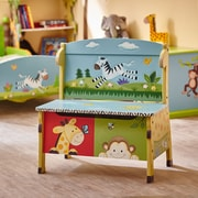 Teamson Fantasy Fields Sunny Safari Storage Bench (W-8267A2)