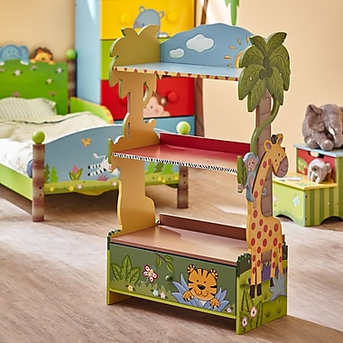 Teamson Fantasy Fields Sunny Safari Bookshelf (W-8268A)