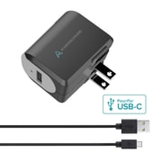 Axessorize PROCharge Home Charger + USB-C Cable (AXHOMEUSBC)