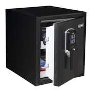Honeywell 0.90 cu. ft. Waterproof Digital Steel Fire Safe, Black (2605)