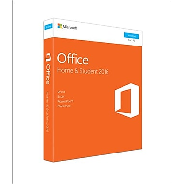 Microsoft Office Home & Student 2016, 1 PC, English