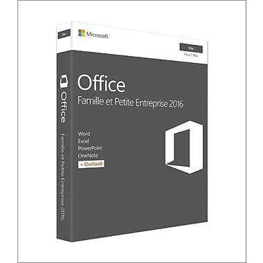 Microsoft – Office Famille et Entreprise 2016 pour Mac, 1 Mac, français