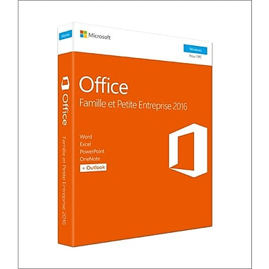 Microsoft Office Home & Business 2016, 1 PC, French