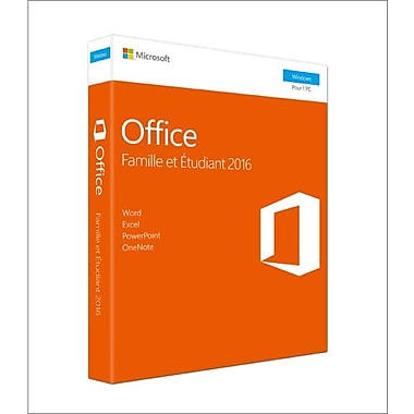Microsoft Office Home & Student 2016, 1 PC, French