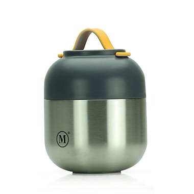 Minimal V2 Stainless Steel Double Wall Vacuum Insulated Food Jar, 500ml, Classic