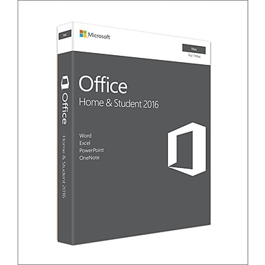 microsoft office home student 2016 for mac