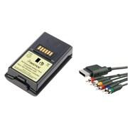 Insten® 1034869 2-Piece Game Battery Bundle For Microsoft Xbox 360 Slim