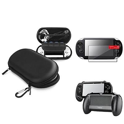 Insten® 1035052 3-Piece Game Case Bundle For Sony PlayStation Vita/Vita 2000