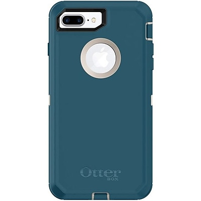 OtterBox Defender Carrying Case with Holster for iPhone 8 Plus, iPhone 7 Plus, Big Sur (77-56828)