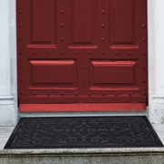 Red Barrel Studio Arcelia Doormat; Grey