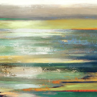 Orren Ellis 'Evening Tide I' Painting Print on Wrapped Canvas; 13'' H x 13'' W x 1.375'' D