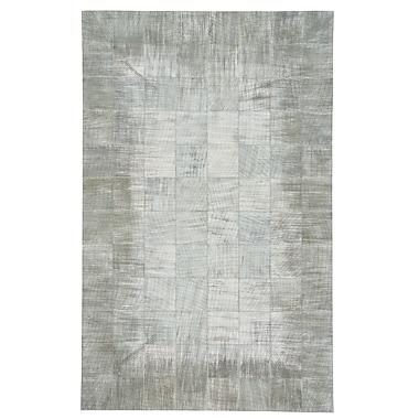 17 Stories Ramanna Silver/Gray Area Rug; 5' x 8'