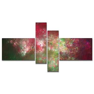 East Urban Home 'Colorful Starry Fractal Sky' Graphic Art Print Multi-Piece Image on Canvas