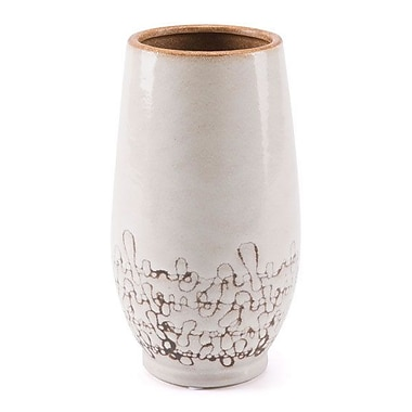 Williston Forge Jolyn Table Vase; 12'' H x 8.3'' W x 8.3'' D