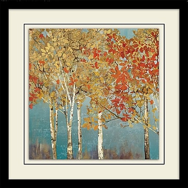 Alcott Hill 'First Moment II' Square Framed Painting Print on Paper