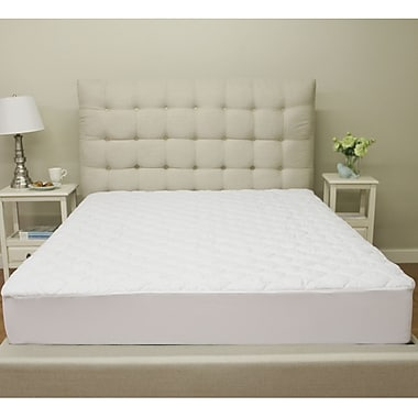 Alwyn Home Deluxe Defend-A-Bed 5'' Polyester Mattress Pad; King