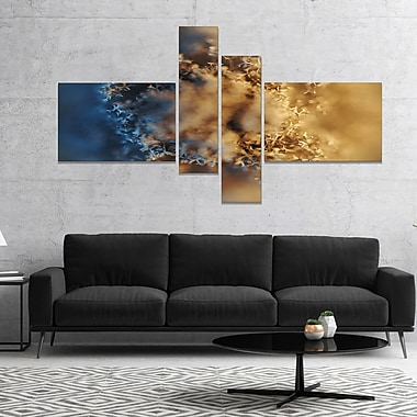 East Urban Home 'Large Macro Prickly Texture Brown' Graphic Art Print Multi-Piece Image on Canvas