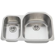 MRDirect Stainless Steel 31'' x 21'' Double Basin Undermount Kitchen Sink