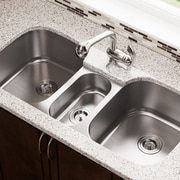 MRDirect Stainless Steel Triple Basin 43'' x 21'' Undermount Kitchen Sink