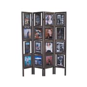 Loon Peak 67'' x 55'' Alatorre Picture Folding Screen 4 Panel Room Divider