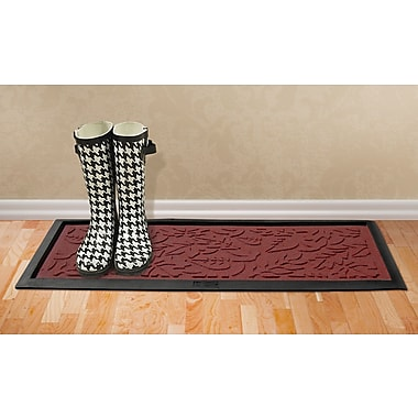 Red Barrel Studio Conway Fall Day Boot Tray; Red