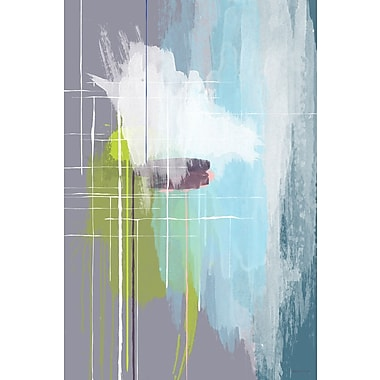 Latitude Run 'The Architect' Abstract Painting Print on Wrapped Canvas; 60'' H x 40'' W x 1.5'' D