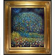 Fleur De Lis Living 'Apple Tree I' by Gustav Klimt Framed Oil Painting Print