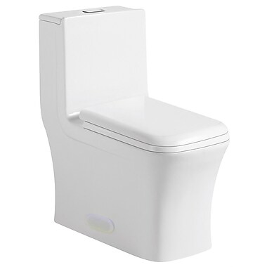 Swiss Madison Concorde Dual Flush Elongated One-Piece Toilet