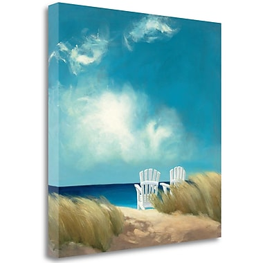 Highland Dunes 'A Perfect Day' Graphic Art Print on Canvas; 18'' H x 18'' W