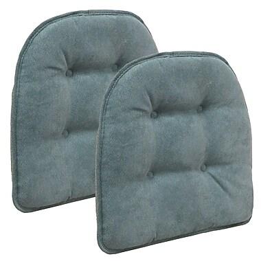 Charlton Home Dining Chair Cushion (Set of 2); Marine