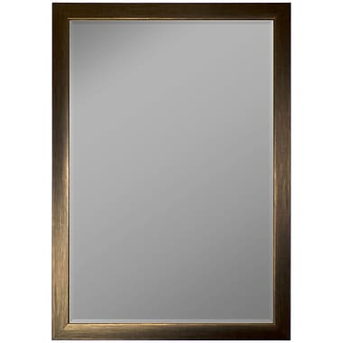 Darby Home Co Avenir Scratched Wall Mirror; 40'' H x 28'' W