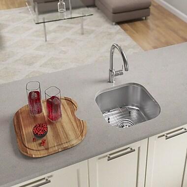 MRDirect 17'' L x 16'' W Undermount Bar Sink