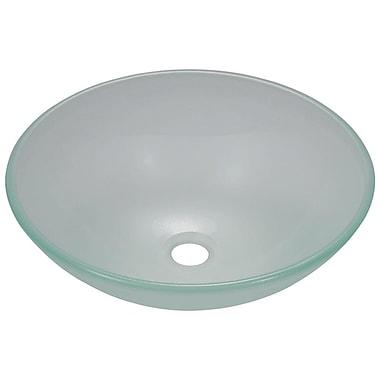 MRDirect Glass Circular Vessel Bathroom Sink
