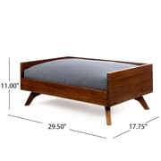 Home Loft Concepts Keury Wood Dog Bed