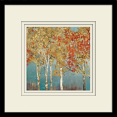 Alcott Hill 'First Moment II' Framed Painting Print on Paper