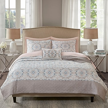 Bungalow Rose Dunbury Modern Bed In a Bag Set; Twin
