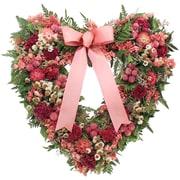 Ophelia & Co. Garden Toile Heart 16'' Wreath