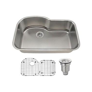 MRDirect 32'' L x 21'' W Undermount Kitchen Sink