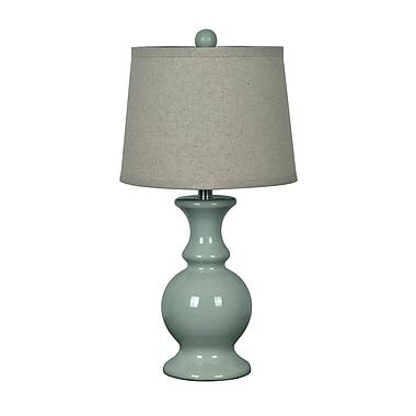 Ophelia & Co. Rashedah 23.5'' Table Lamp; Stone Blue