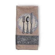Ophelia & Co. Place Setting Cotton Kitchen Towel