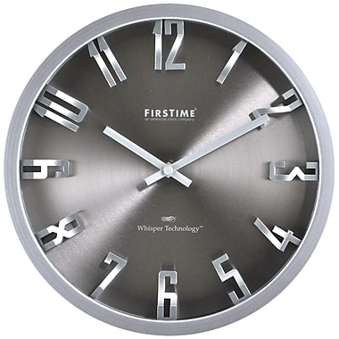 Orren Ellis Kilgore 10'' Steel Dimension Wall Clock