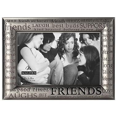 Winston Porter Lamothe 4'' x 6'' Friends Modern Words Picture Frame