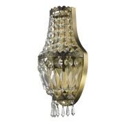 Astoria Grand Weisser 3-Light Antique Bronze Clear Crystal Wall Sconce