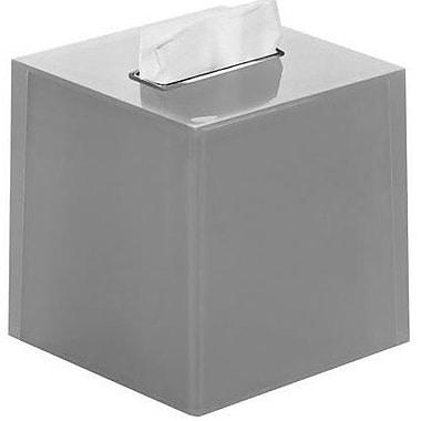 Latitude Run Scannell Tissue Box Cover; Silver