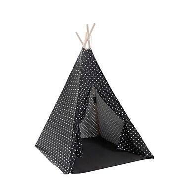 KidiComfort Triangle Play Teepee; Black