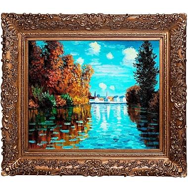 Fleur De Lis Living 'Autumn at Argenteuil' by Claude Monet Framed Painting